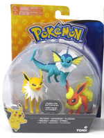 Pokemon - Jolteon, Vaporeon & Flareon 3-pack