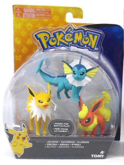 Pokemon - Jolteon, Vaporeon & Flareon 3-pack
