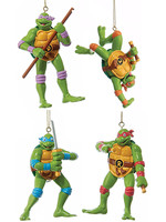 Turtles - Retro Ornament 4-pack