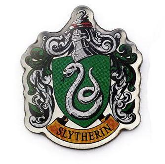 Harry Potter - Slytherin Crest Pin Badge