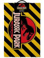 Jurassic Park - Warning Doormat 40 x 60 cm