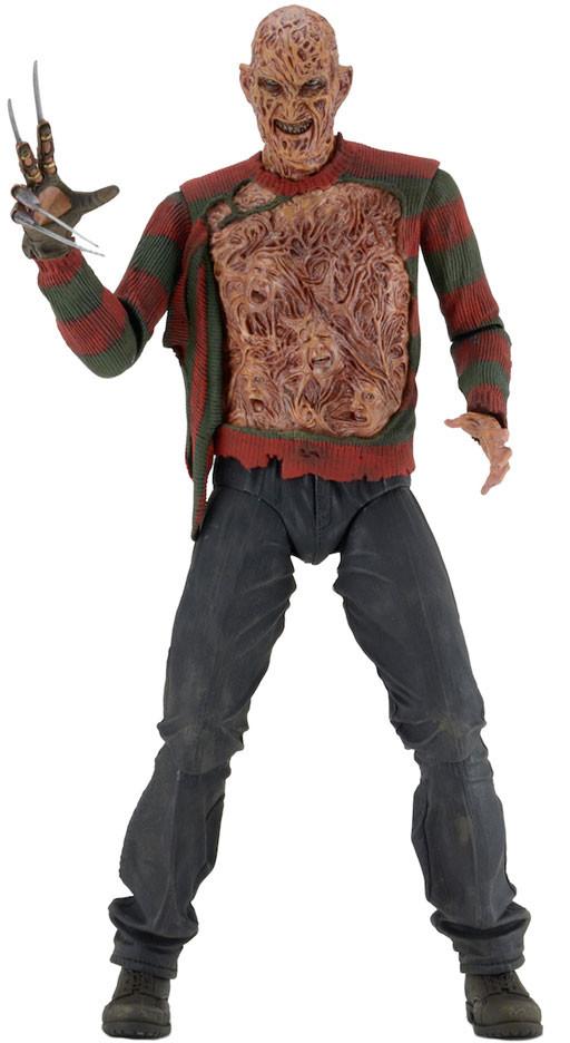 "Nightmare on Elm Street 7/"" Scale Figure Ultimate Dream Warriors Freddy NECA"