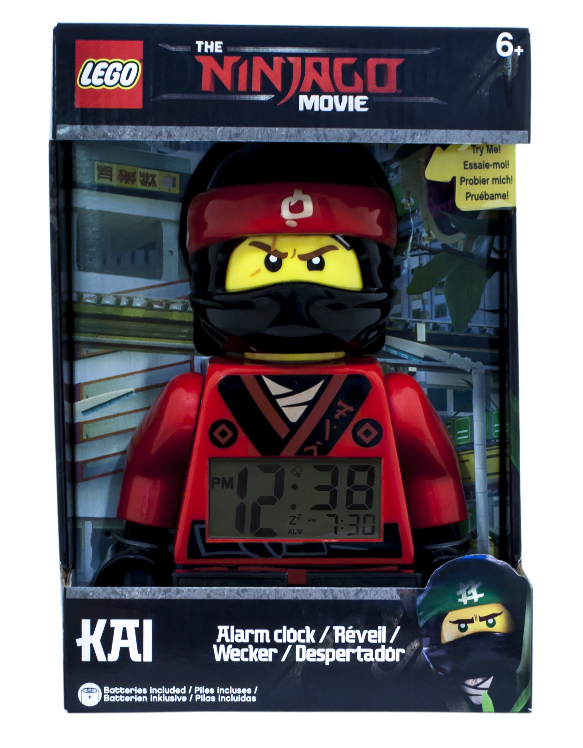 LEGO Ninjago - Ninjago Movie Kai Alarm Clock - Heromic 584e0f2477920