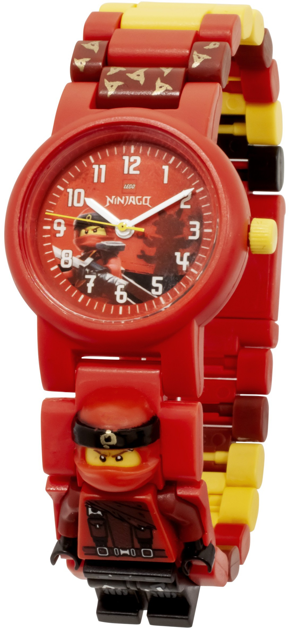 LEGO Ninjago - Kai Minifigure Link Buildable Watch - Heromic 26854313d7684