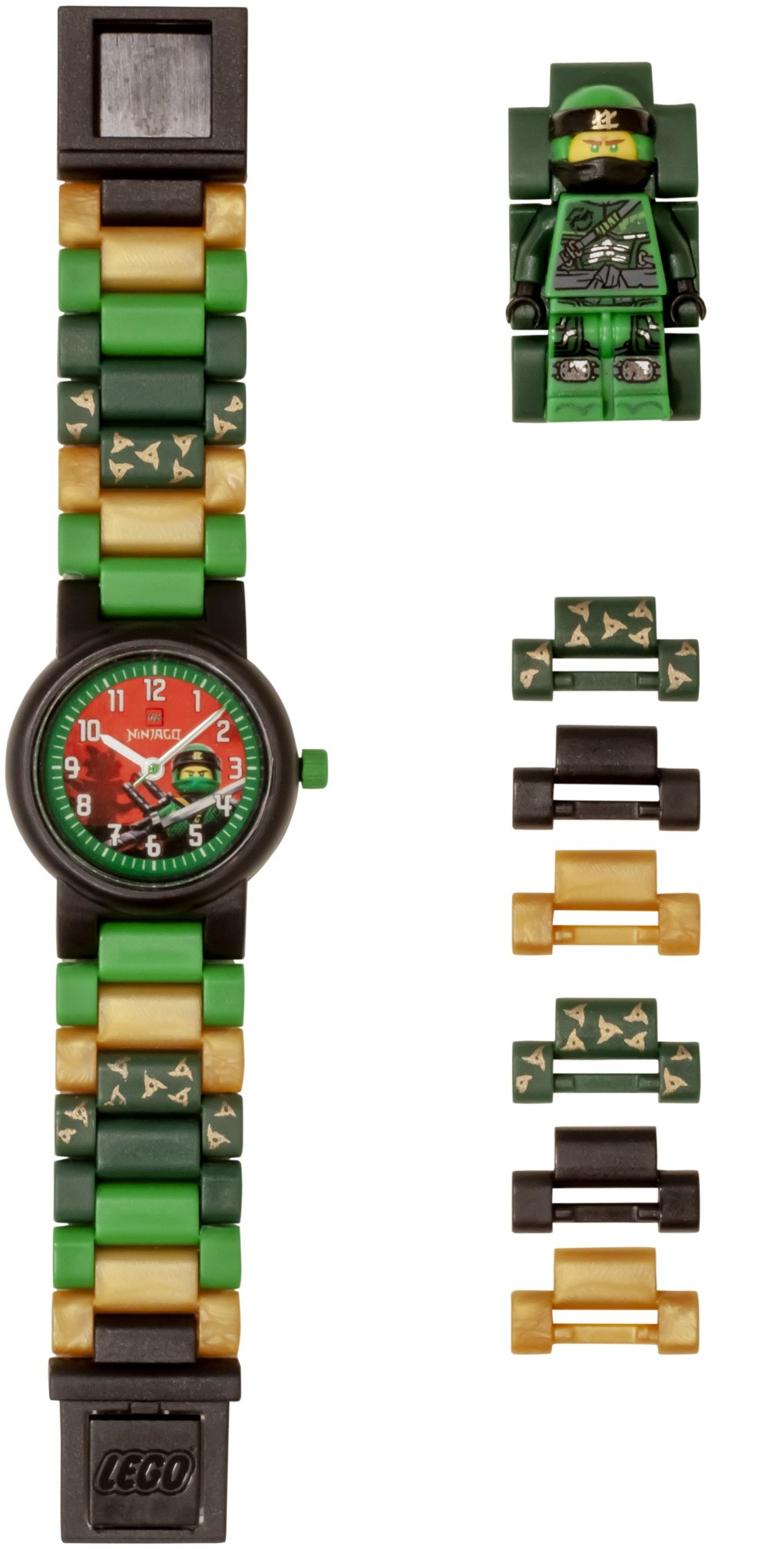 LEGO Ninjago - Lloyd Minifigure Link Buildable Watch - Heromic 4babff9245de6