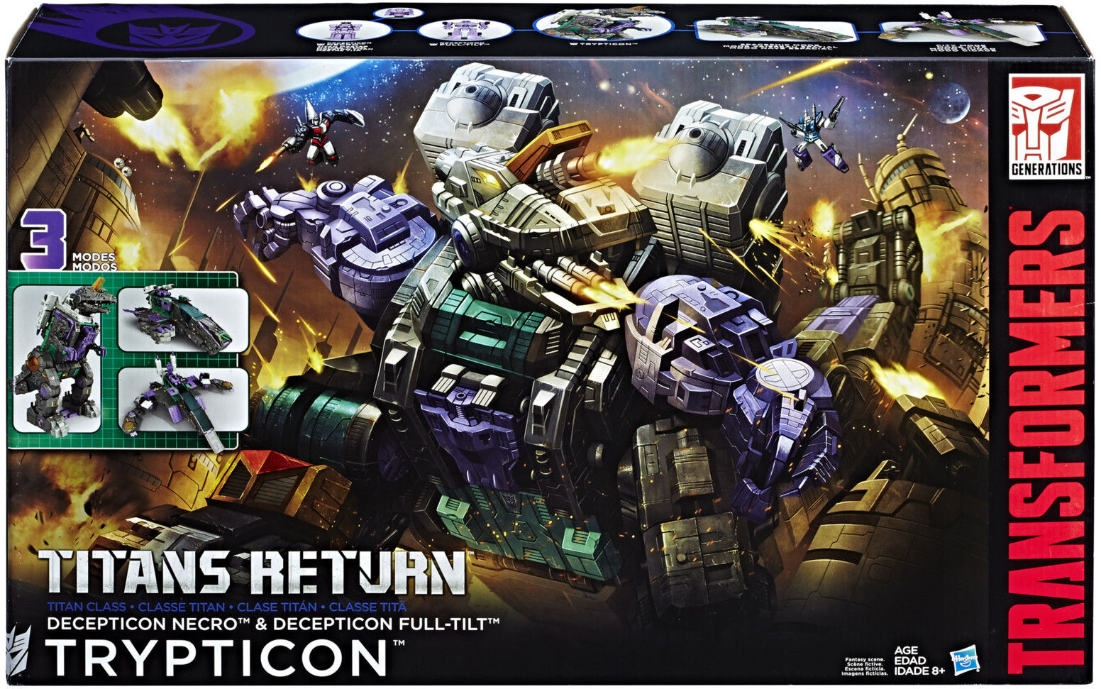 Transformers Generations - Trypticon Titan Class - Heromic 55b6536297ee6