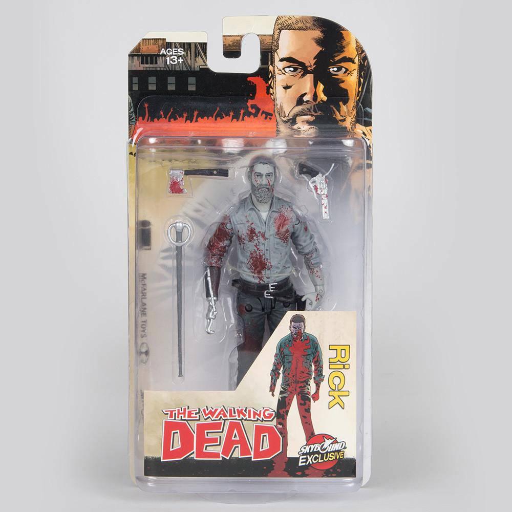 McFarlane The Walking Dead Ezekiel Action Figure Bloody b/&w