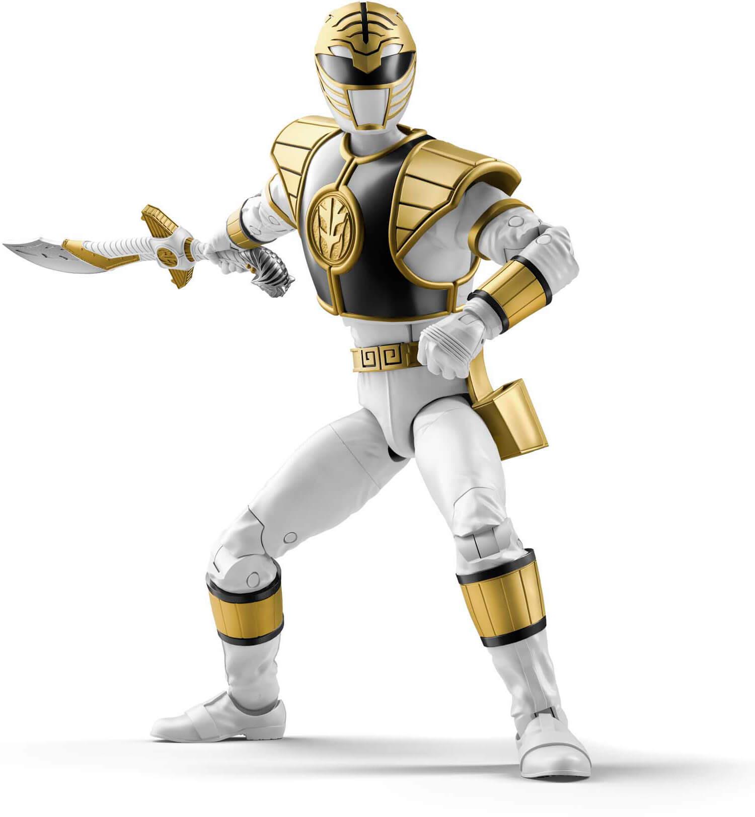 Hasbro Power Rangers Lightning Collection WHITE RANGER