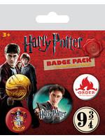 Harry Potter - Pins 5-Pack Gryffindor