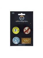 Overwatch - Roadhog Pin 4-Set