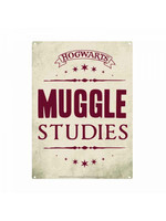 Harry Potter - Muggle Studies Tin Sign - 21 x 15 cm
