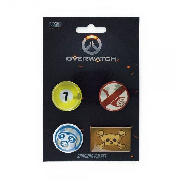 Overwatch - Roadhog Pin 4-Set