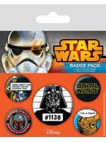 Star Wars - Pins 5-Pack Cult