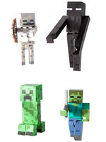 Minecraft - 4-Pack Mobs Action Figures