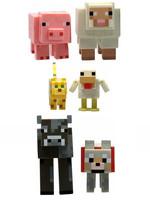 Minecraft - Animals 6-Pack Action Figures