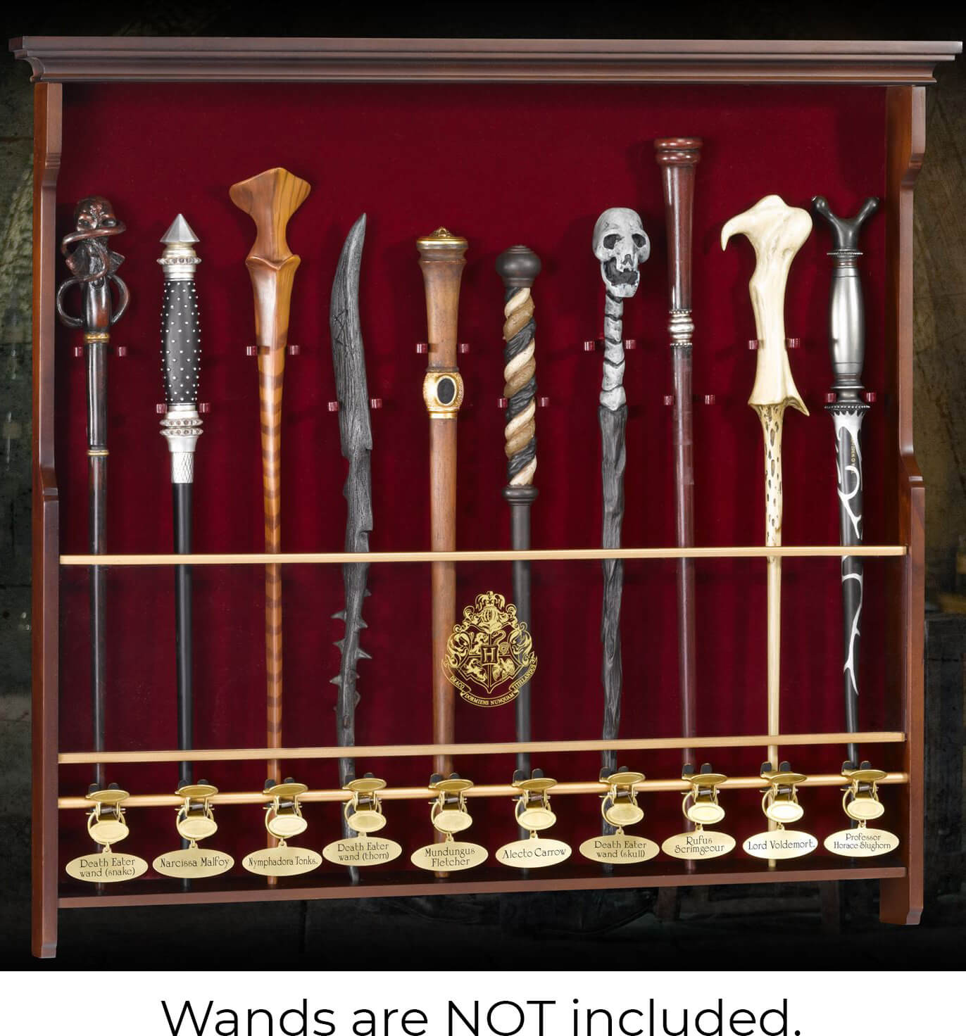 Harry Potter - Ten Character Wand Display