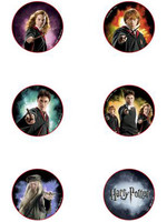 Harry Potter - Pins 6-Pack Half-Blood Prince