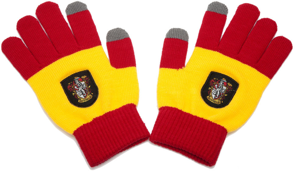 Harry Potter - E-Touch Gloves Gryffindor Red