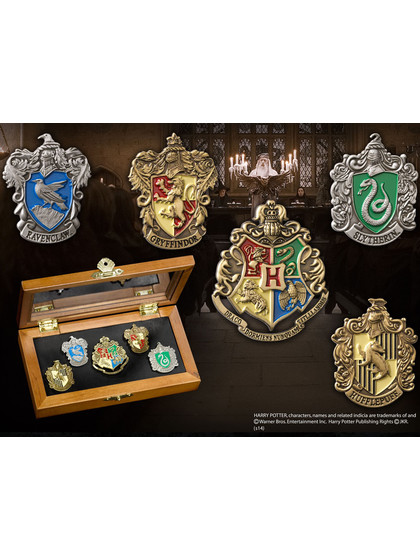 Harry Potter - Hogwarts Houses Pin Collection