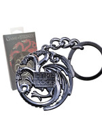Game of Thrones - Metal Keychain Targaryen Sigil