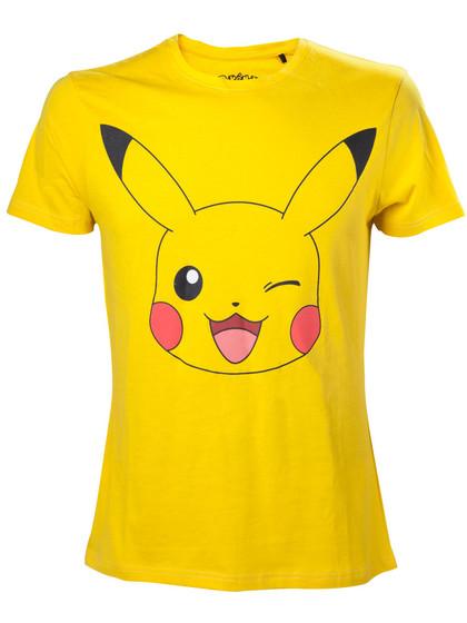 Pokemon - T-Shirt Pikachu Winking