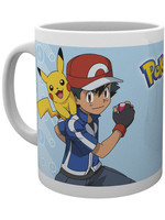 Pokemon - Ash Light Blue Mug