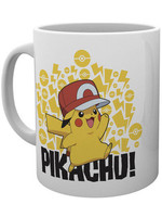 Pokemon - Ash Hat Pikachu Mug