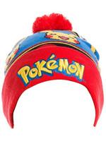 Pokemon - Beanie Logo & Pikachu