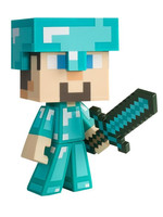 Minecraft - Diamond Steve - 15 cm