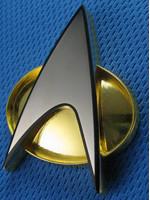 Star Trek TNG - Starfleet Communicator Badge