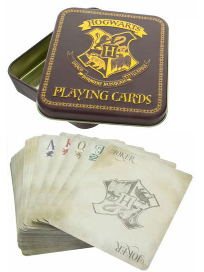 Harry Potter - Playing Cards Hogwarts