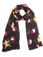 Pokemon - Scarf Pokeball & Pikachu
