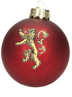 Game of Thrones - Lannister Glass Ornament