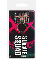 Suicide Squad - Logo Rubber Keychain