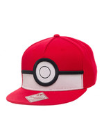 Pokemon - 3D Poke Ball Snap Back Baseball Cap
