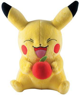 Pokemon - Pikachu with apple Plush - 25 cm