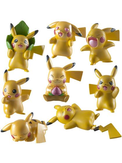 Pokemon - Pikachu Metallic Mini Figures 4-Pack