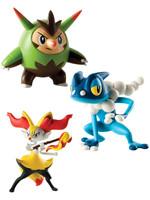 Pokemon - Quilladin, Braixen & Frogadier - 6 cm