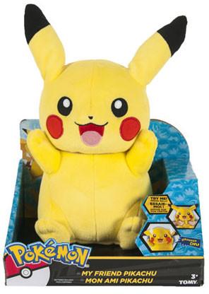Pokemon - Pikachu Talking Plush - 30 cm