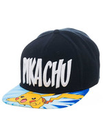 Pokemon - Lightning Pikachu Snap Back Baseball Cap