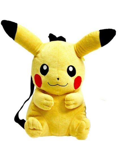 Pokemon - Pikachu Plush Backpack - 27 cm