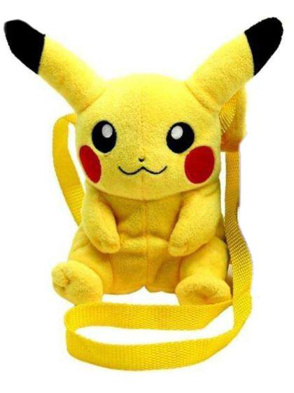 Pokemon - Pikachu Plush Shoulder Bag - 16 cm