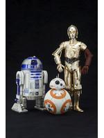 Star Wars - R2-D2, C-3PO & BB-8 - Artfx+
