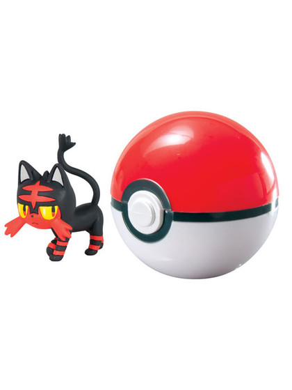 Pokemon - Litten Clip´n´Go Poké Ball