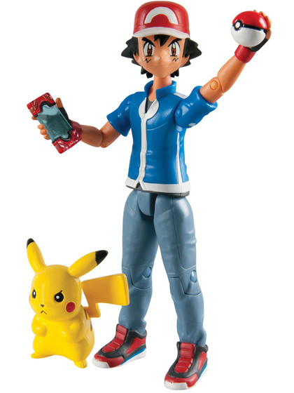 Pokemon - Ash & Pikachu Action Figures 2-Pack