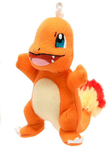 Pokemon - Charmander Plush Keychain - 9 cm