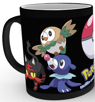 Pokemon - Catch Em All Heat Change Mug
