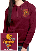 Harry Potter - Gryffindor Ladies Hooded Sweater