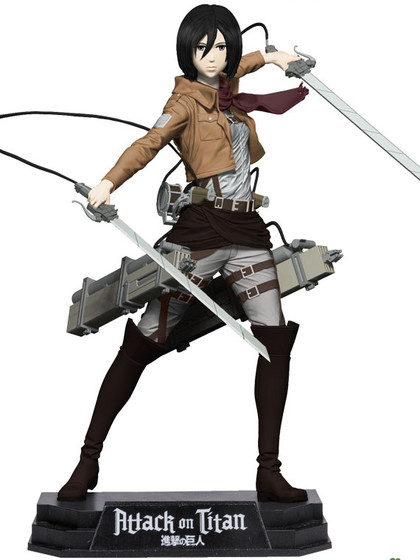 Attack on Titan - Mikasa Ackerman - Color Tops