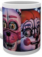 Five Nights at Freddy's - Sister Location Faces Mug